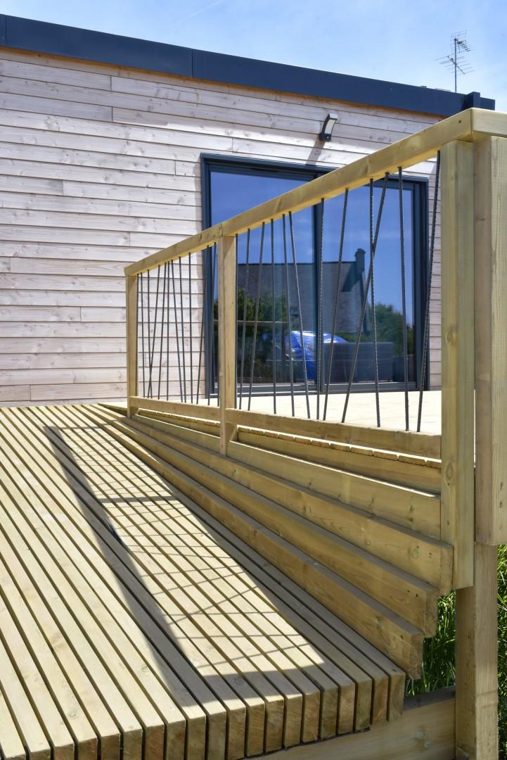 terrasse en bois bretagne